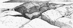 Granite Crevice, Monhegan