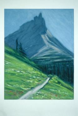 Peak at Glacier park