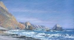 McClure's Beach, Blue