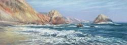 McClure's Beach, Orange Cliffs