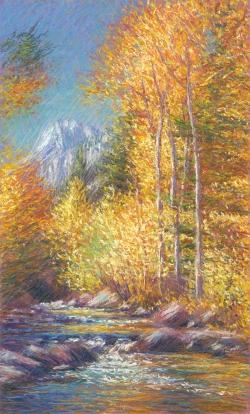 October Aspens, Lake Sabrina