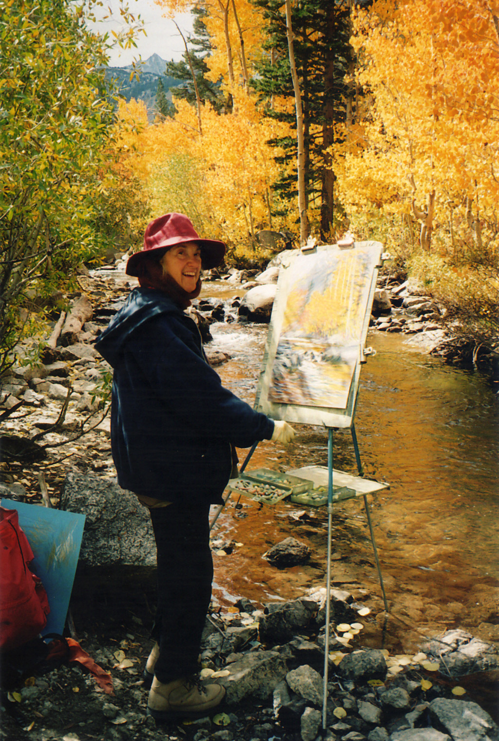 Painting in the Sierras